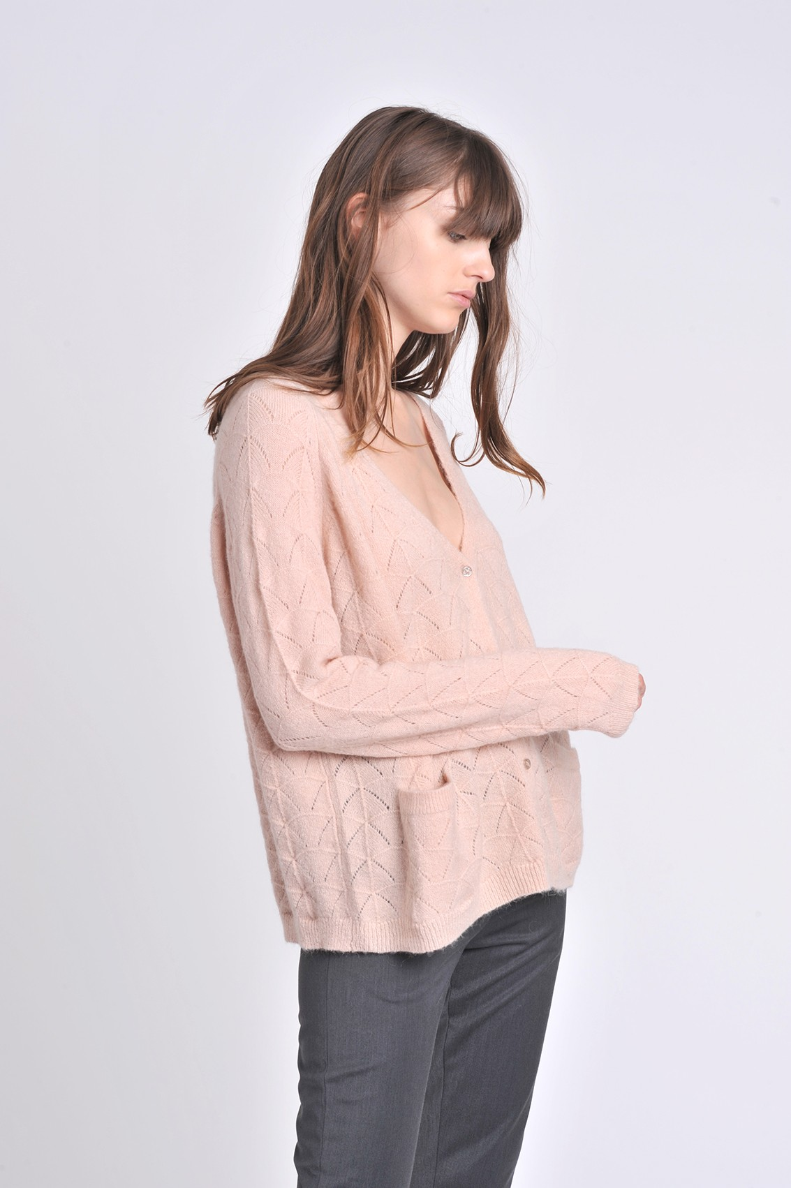 Pull mohair Opale