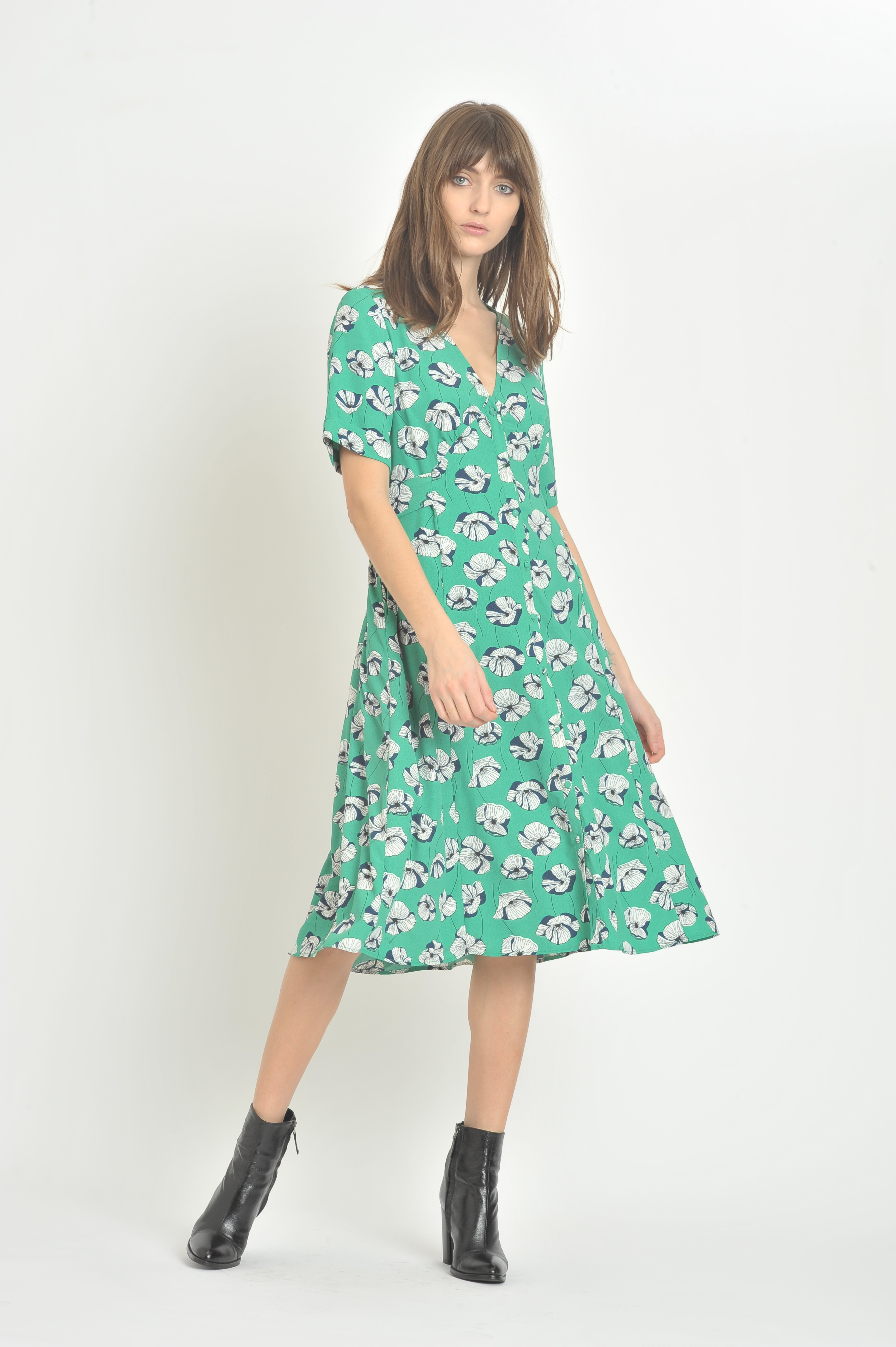 Robe Becky Pop Flower